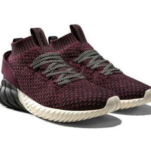 Adidas Tubular Doom Sock Primeknit Mens Maroon